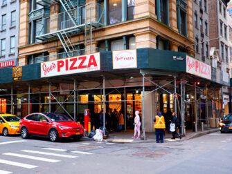 La migliore pizza a New York - Joe's Pizza