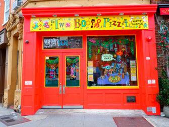 La migliore pizza a New York - Two Boots