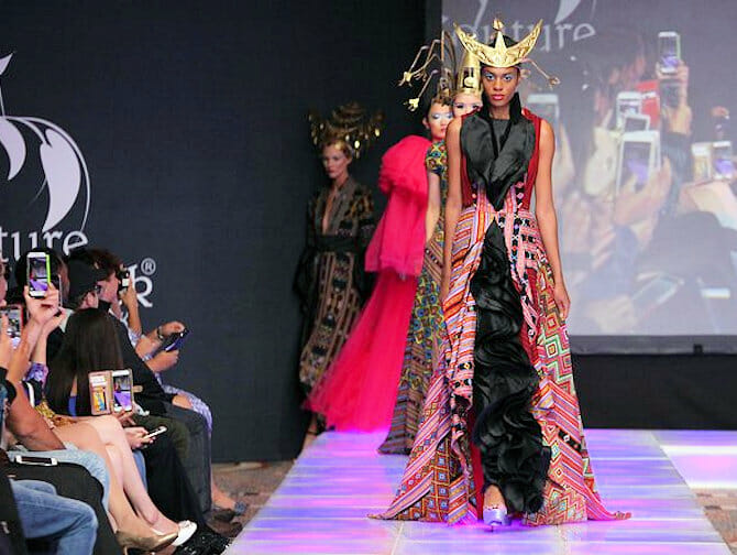 Desfile Laureluxe Couture Fashion Week