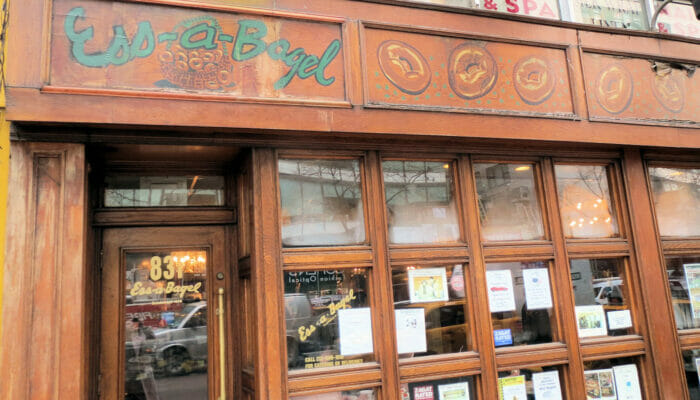 I migliori bar & bagel di New York - Ess a Bagel in New York