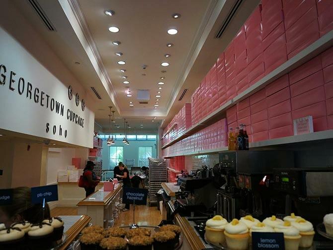Georgetown Cupcake a New York