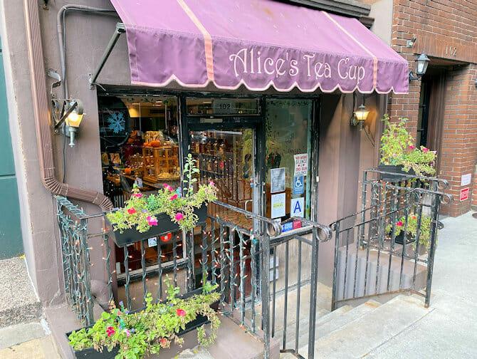 High tea da Alice's Tea Cup