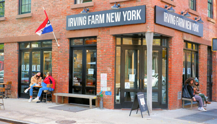I migliori bar & bagel di New York - Irving Farm a New York