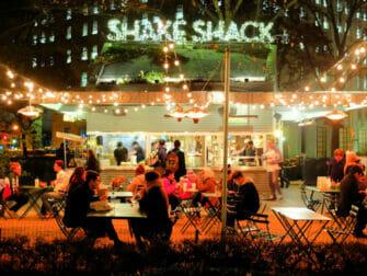 I migliori hamburger a New York Shake Shack