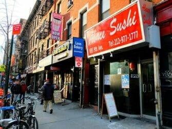 Sushi a New York - Abace Sushi