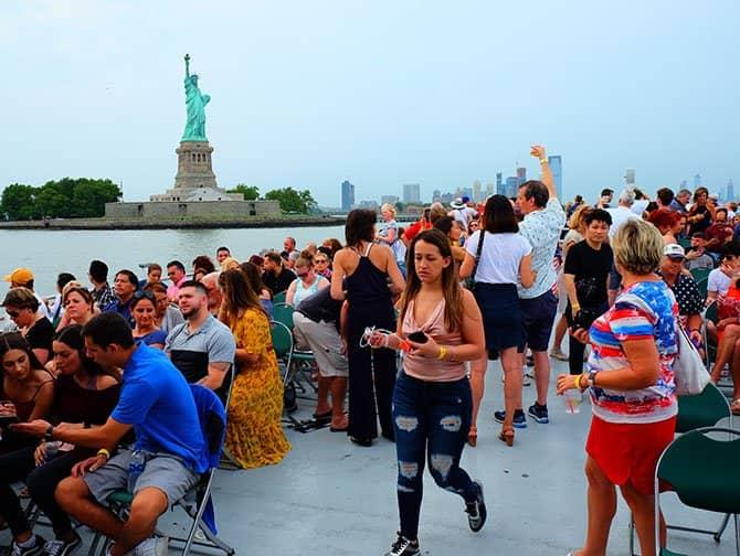 4 luglio a New York - Crociera con fuochi d' artificio