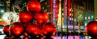 La stagione natalizia a New York
