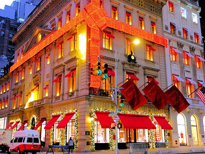La stagione natalizia a New York - Cartier