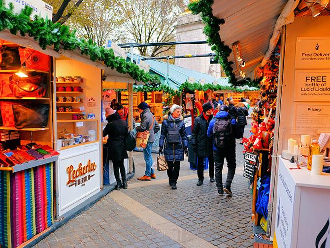 La stagione natalizia a New York - Mercatino di Natale