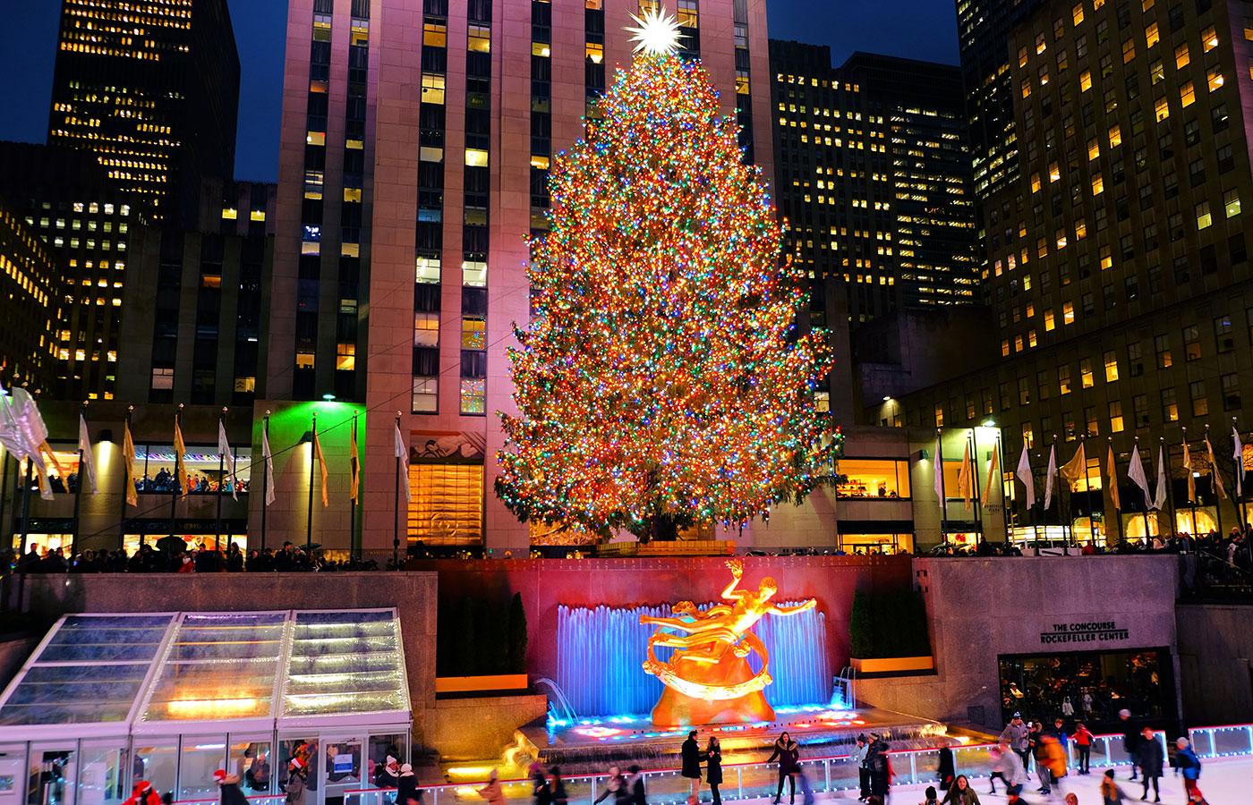 La stagione natalizia a New York - L'albero del Rockefeller