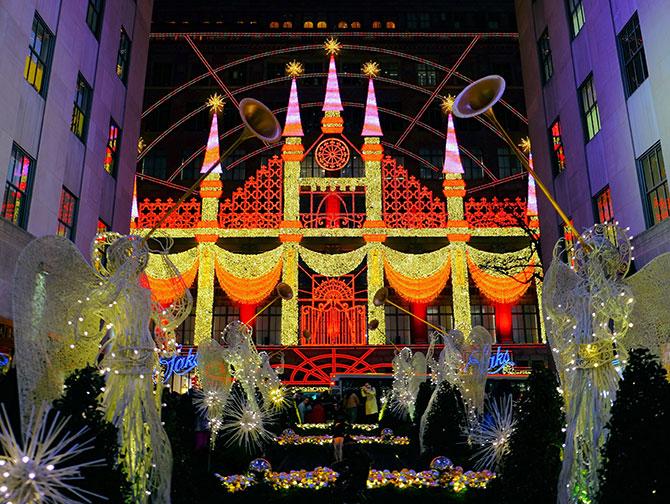 La stagione natalizia a New York - Saks