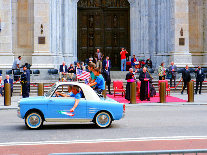 Columbus Day a New York- studenti italiani