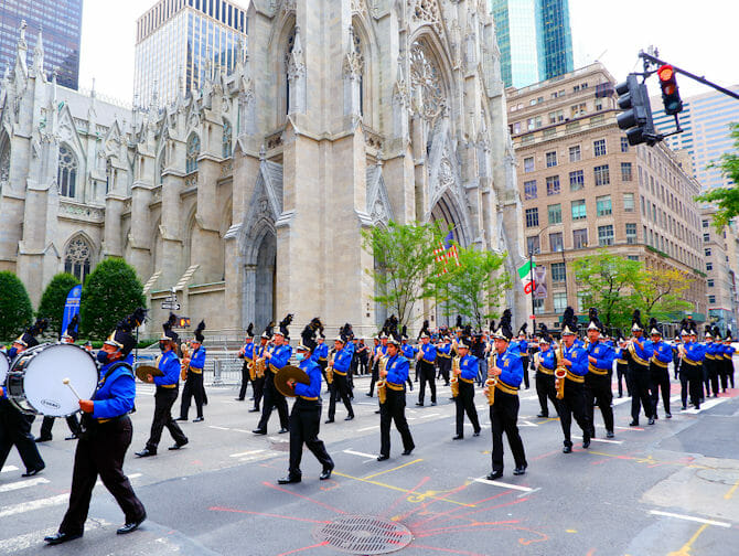 Columbus Day a New York - Banda musicale
