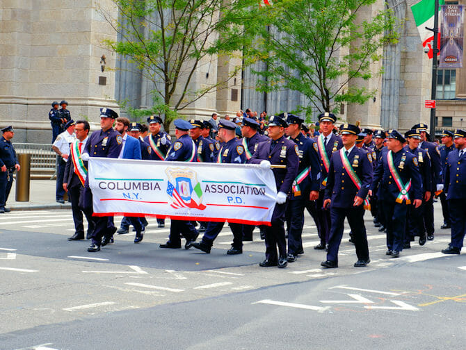 Columbus Day a New York - Columbia Association