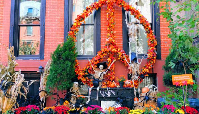 Halloween a New York - Case decorate