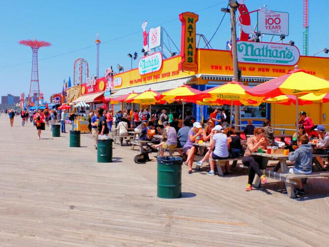Memorial Day a New York - Lungomare di Coney Island