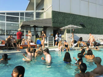 I migliori rooftop bar a New York - Gansevoort Hotel