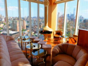 I migliori rooftop bar di New York -The Top of the Standard Veduta