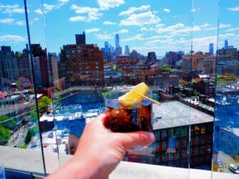 I migliori rooftop bar a New York - Vista dal Gansevoort Hotel