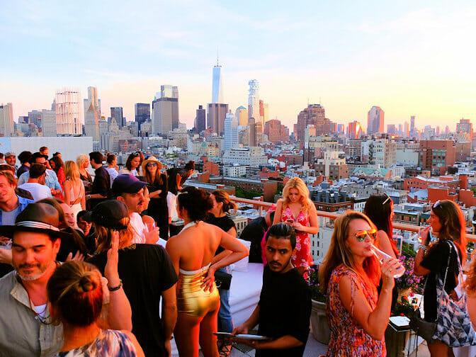 I migliori rooftop bar di New York