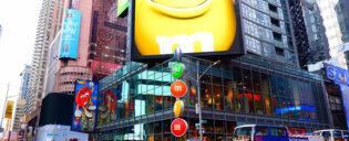 Negozio MM a Times Square