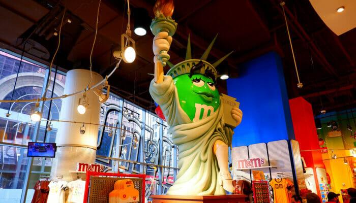 Negozio MM a Times Square - Lady Liberty