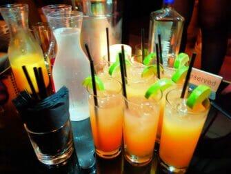 Giro dei nightclub di New York - Drink