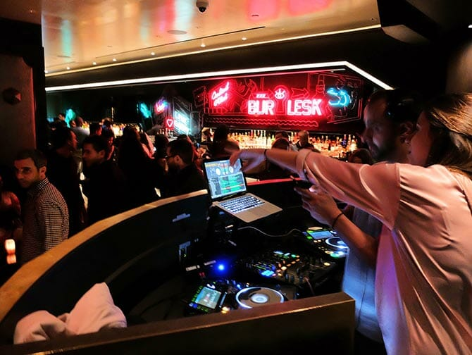 Giro dei nightclub di New York