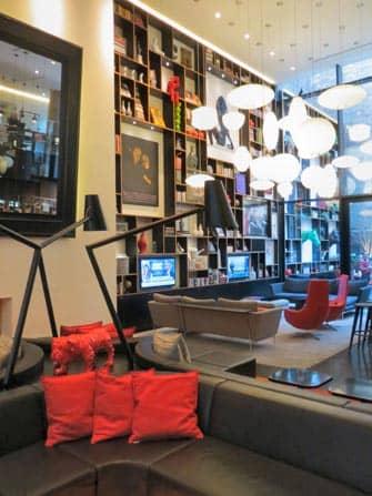 Il Salotto del citizenM Times Square hotel New York