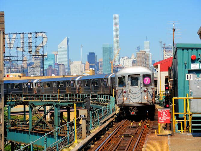 Long Island City treno