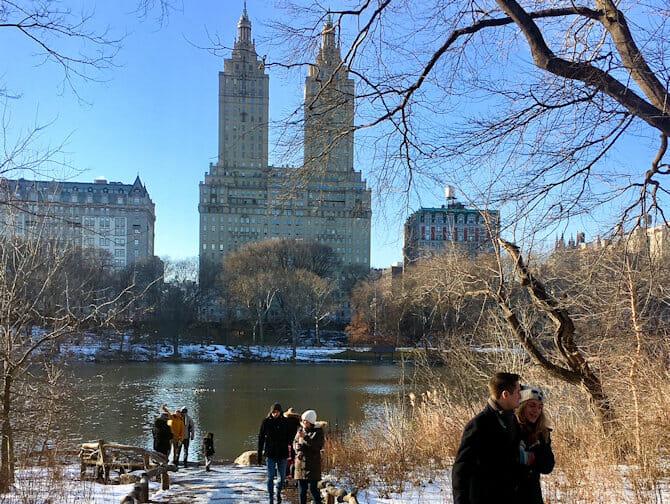 Capodanno in NYC - Pattinaggio sul ghiaccio in Central Park