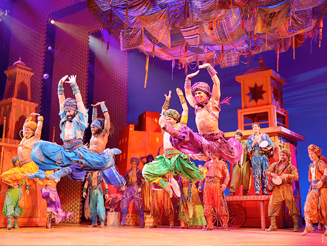 Biglietti per Aladdin a Broadway - Notti d'oriente