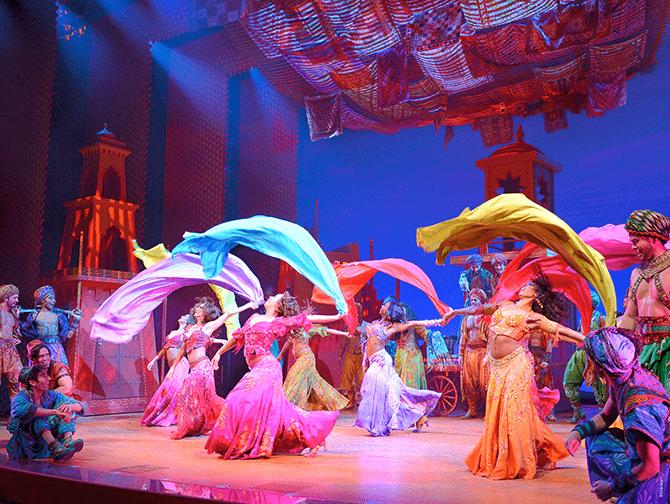 Biglietti per Aladdin a Broadway - Balletto