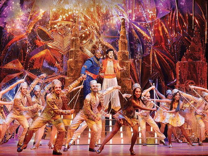 Biglietti per Aladdin a Broadway- Genie e Aladdin