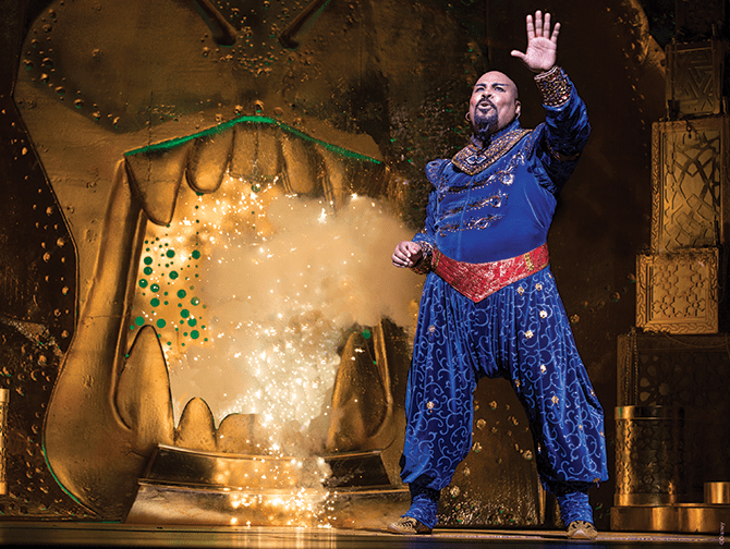 Biglietti per Aladdin a Broadway - Genie