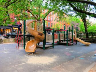Bleeckerstreet Playground in New York