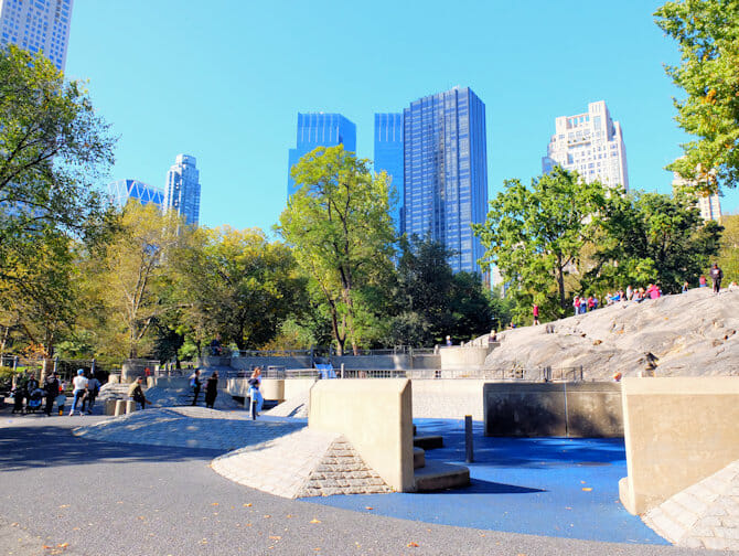 The Central Park Playground in New York