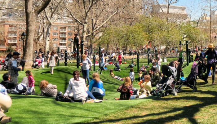 Washington Square Playground New York