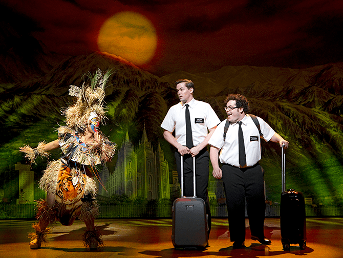 Biglietti per The Book of Mormon a Broadway - Arnold e Kevin