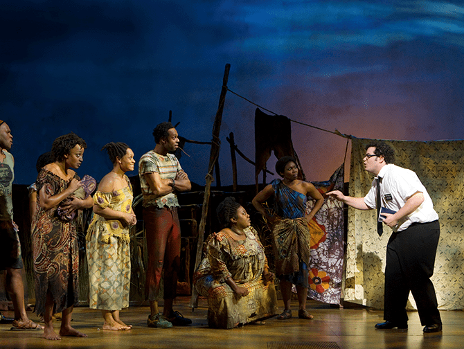 Biglietti per The Book of Mormon a Broadway - In Uganda