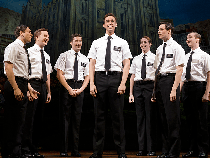 Biglietti per The Book of Mormon a Broadway - Missionari