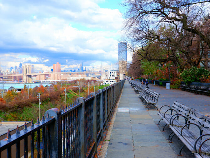 Tour di Brooklyn - Brooklyn Heights Promenade