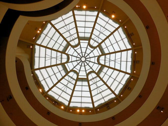 Il Guggenheim Museum di New York - Interno
