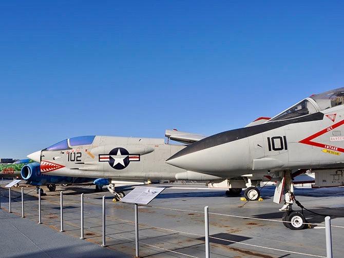Intrepid Sea, Air and Space Museum a New York - Aereo da combattimento