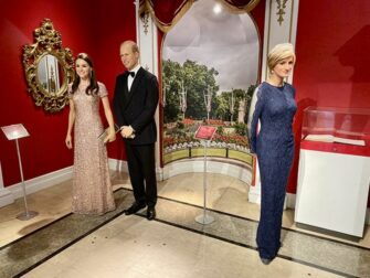 Madame Tussauds a New York - Famiglia reale