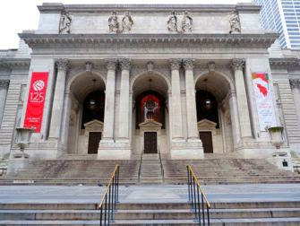 L'architettura di New York Tour- Public Library