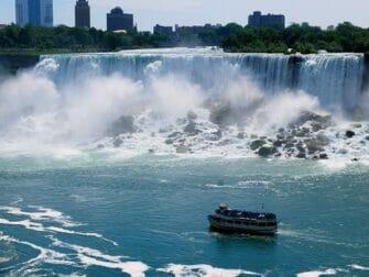 Da New York alle Cascate del Niagara - Giro in battello
