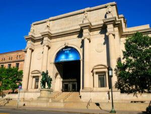 Museo americano di storia naturale a New York