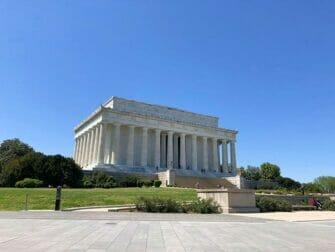 Gita a Washington DC in bus da New York- Lincoln Memorial