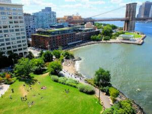 Brooklyn Bridge Park a New York